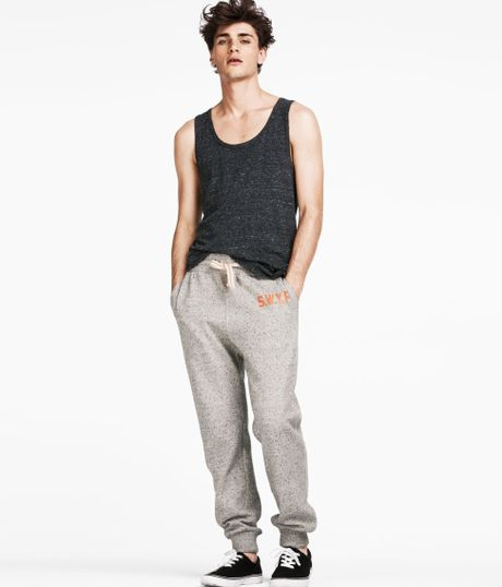 H&m Sweatpants in Gray For