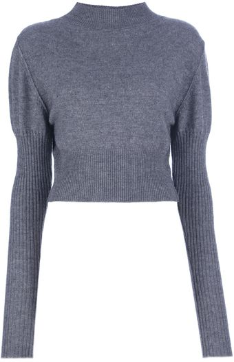 Rick Owens Ribbed Detail Sweater - Lyst