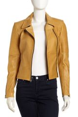 A.L.C. Leather Motorcycle Jacket - Lyst