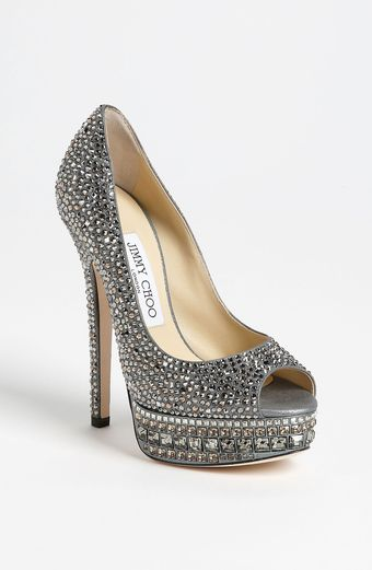 Jimmy Choo Kendall Crystal Pump - Lyst