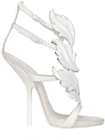 Kanye West By Giuseppe Zanotti 130mm Cruel Leaves Leather Sandals - Lyst
