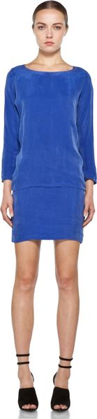 Kelly Wearstler Water Washed Eden Dress in Sapphire in Blue (sapphire) - Lyst