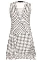 Proenza Schouler Printed Wrap Dress - Lyst