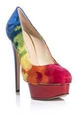Charlotte Olympia Dolly Feathers Shoes - Lyst
