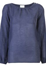 Girl. By Band Of Outsiders Swiss Dot Blouse - Lyst
