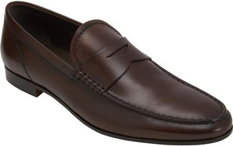 Tod's Formal Penny Loafer - Lyst