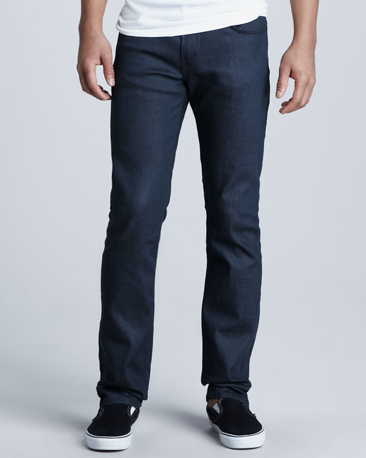 J brand Kane Raw Silver Jeans in Blue for Men | Lyst