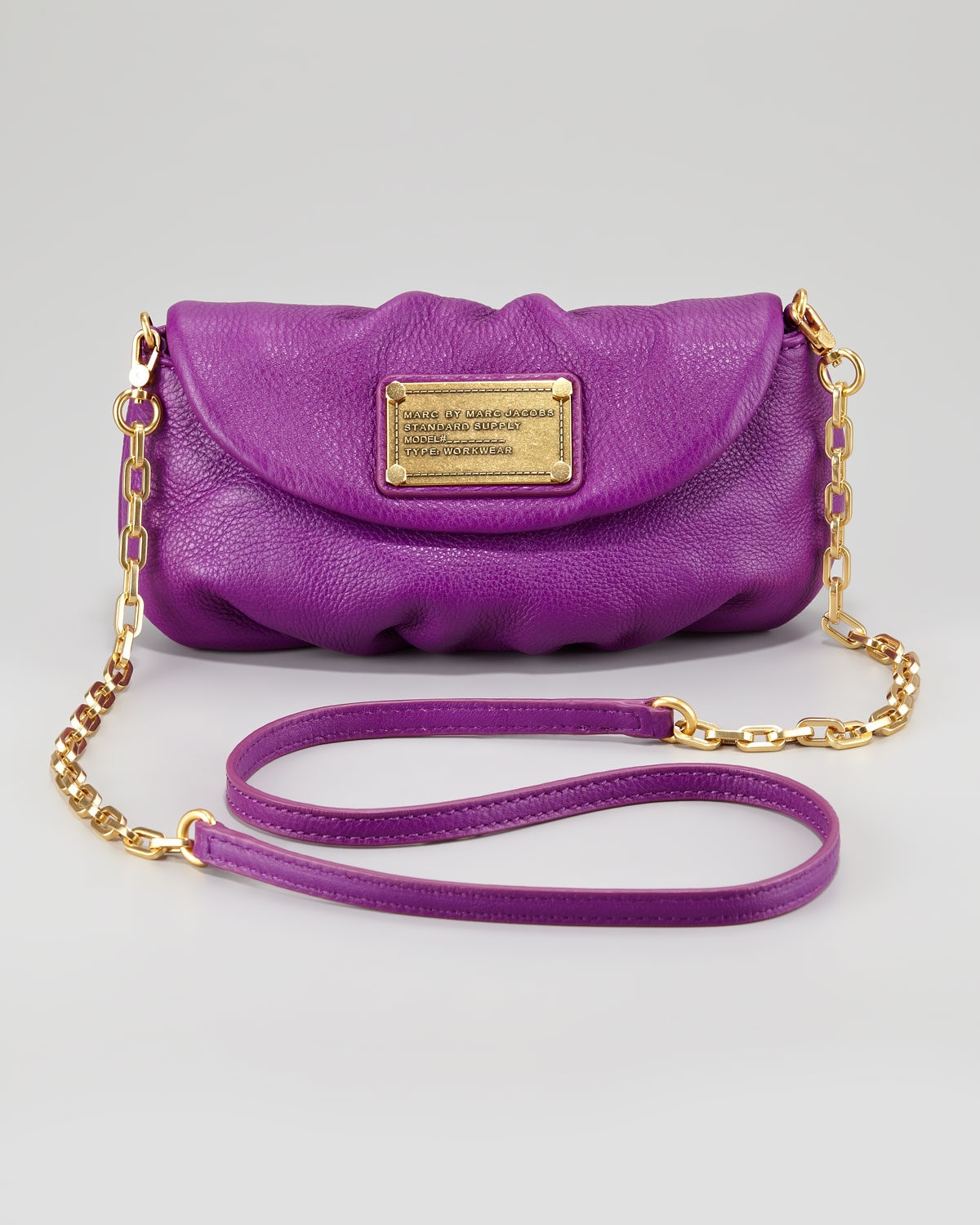 3c0ca5940fcd Lyst - Marc By Marc Jacobs Classic Q Karlie Crossbody Bag in Purple