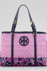Tory Burch Ella Logo Mini Tote Bag - Lyst