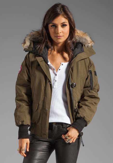 Canada Goose vest replica fake - Canada goose Chilliwack Bomber in Natural (military green) | Lyst