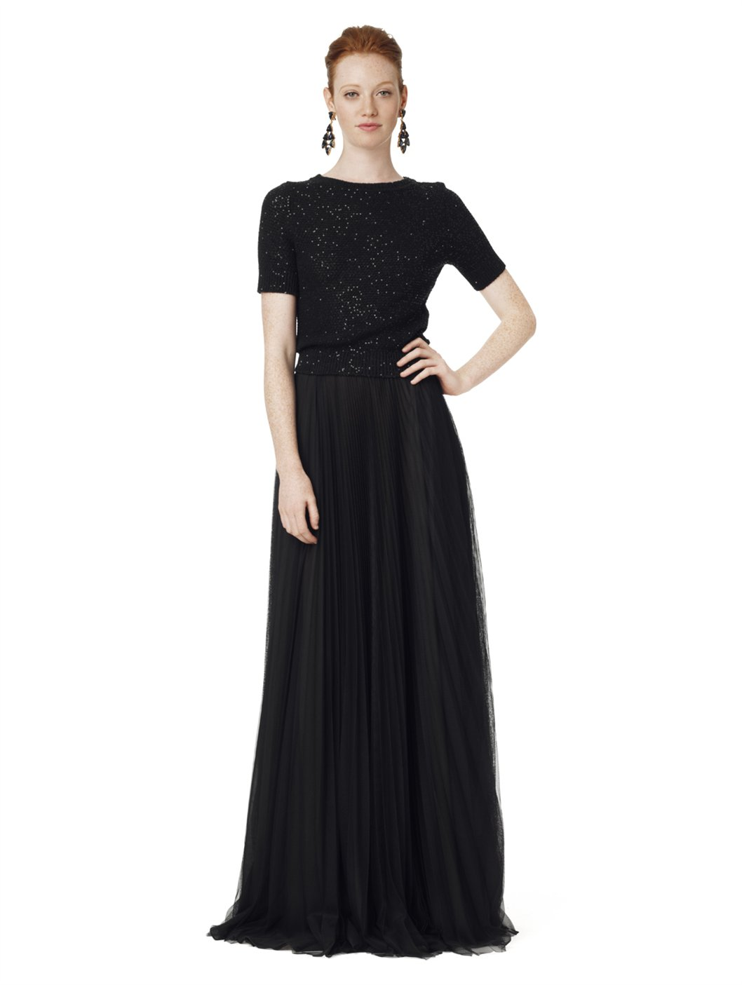 Images of Black Formal Skirt Floor Length - The Fashions Of Paradise