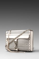 Rebecca Minkoff Mac Clutch Triange Perforated - Lyst