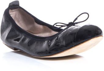 Bloch Patent Leather Flats - Lyst