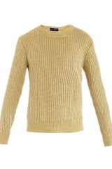 Dolce & Gabbana Ribbed knit Sweater - Lyst