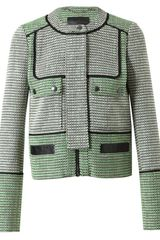 Proenza Schouler Basketweave Tweed Jacket