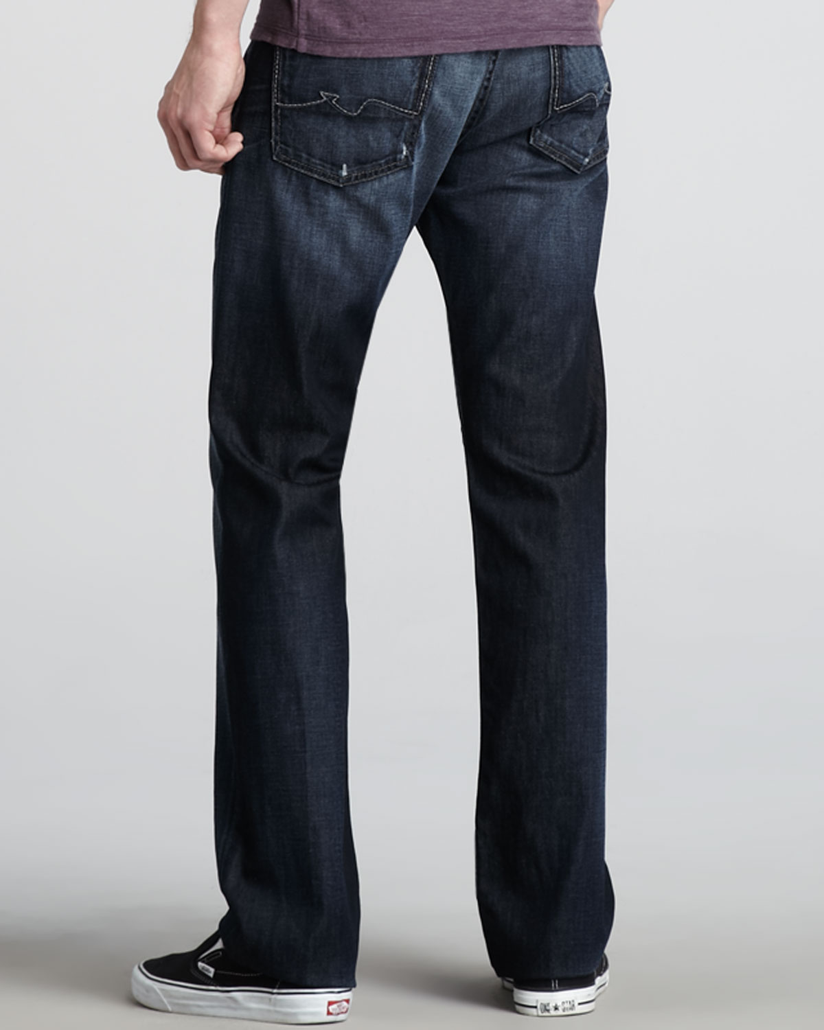 7 for all mankind Standard Driftwood Night Jeans in Blue for Men ...