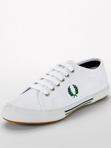 Fred Perry White Tennis Shoes