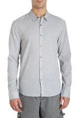 James Perse Tropical Button Front Shirt - Lyst