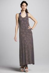 Jean Paul Gaultier Reversible Maxi Dress - Lyst