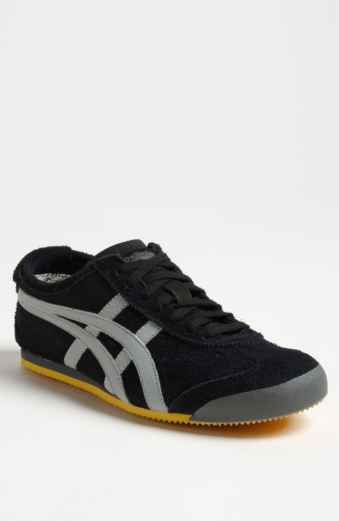 onitsuka tiger mexico 66 suede sneaker in black for men black light grey lyst. Black Bedroom Furniture Sets. Home Design Ideas