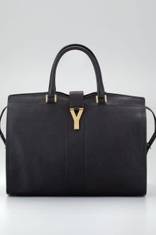 Yves Saint Laurent Cabas Chyc Ranch Leather Large Tote Bag - Lyst