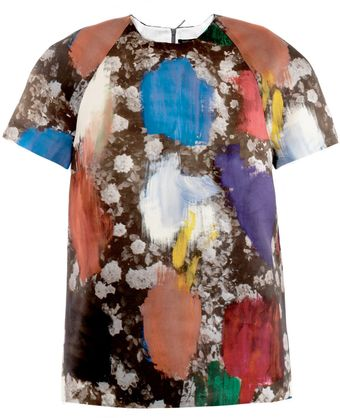 Christopher Kane Dutch-Print Top - Lyst