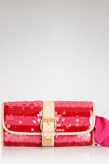 Juicy Couture Clutch Super Straw Pailette - Lyst