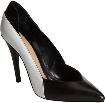 Narciso Rodriguez Colorblock Pointed Toe Pump - Lyst
