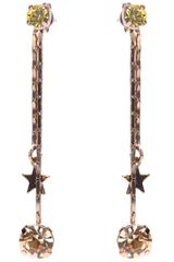 Stella McCartney Stone and Charm Earrings - Lyst