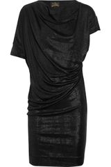 Vivienne Westwood Anglomania New Drape Ruched Jersey Dress - Lyst
