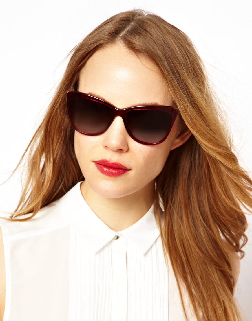 aae4dd2fa66c Lyst - Dolce   Gabbana Mambo Collection Sunglasses in Red