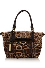 Sam Edelman Leopard Print Tote Bag in Animal (leopard) - Lyst