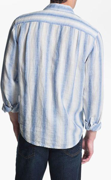 Tommy Bahama Eastern Seaboard Linen Sport Shirt Big Tall