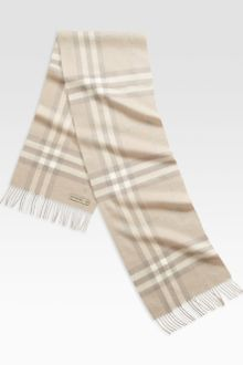 Burberry Giant Icon Check Scarf - Lyst