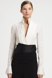 Donna Karan New York Spliced Cummerbund - Lyst