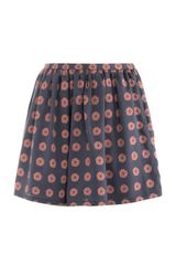 Opening Ceremony Rose Print Shorts - Lyst