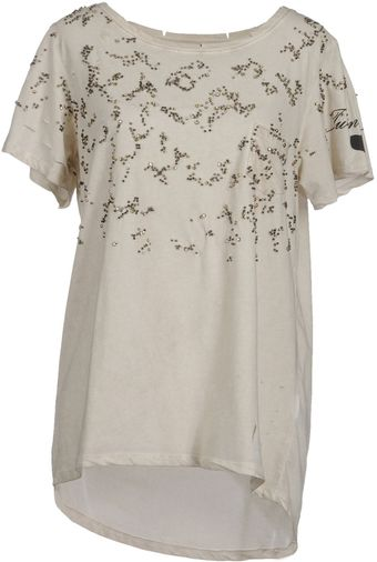 Twin-set Simona Barbieri Short Sleeve Tshirt - Lyst