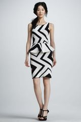 Alice + Olivia Monaco Zigzag Crochet Dress - Lyst