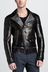 Belstaff Colwyn Leather Motorcycle Jacket - Lyst