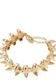 Giuseppe Zanotti Gold Plated Brass Vertebrae Necklace - Lyst