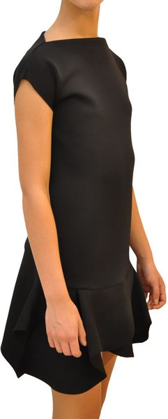 Givenchy Dress with Asymmetric Skirt in Black