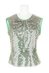 Marc Jacobs Waisted Top in Cotton and Polyester