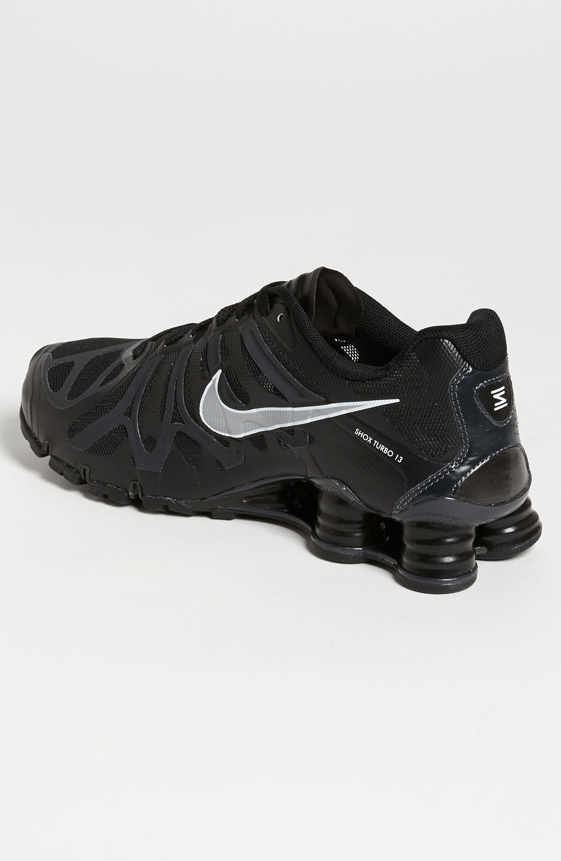 Nike Shox Turbo 13 Black Silver