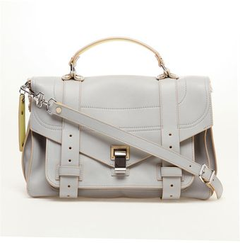 Proenza Schouler Large Leather Satchel - Lyst