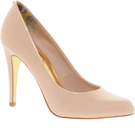 Ted Baker Jaxine 3 Court Shoes in Beige (nude)