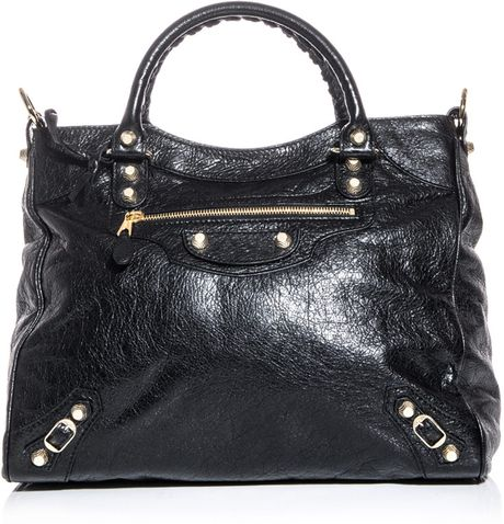 Balenciaga Giant Velo Bag in Black