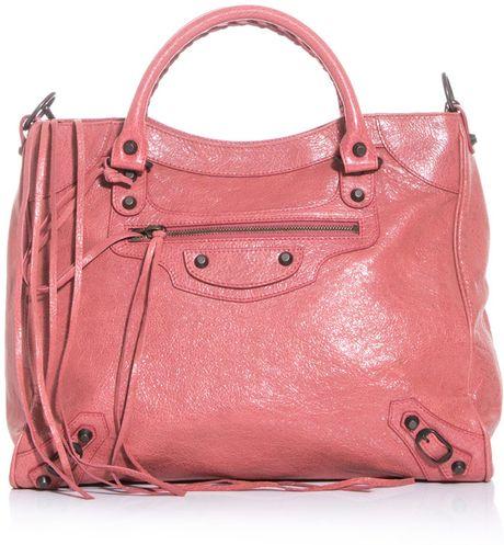 Balenciaga Classic Velo Bag in Pink - Lyst