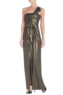 BCBGMAXAZRIA Barbara Oneshoulder Evening Gown - Lyst