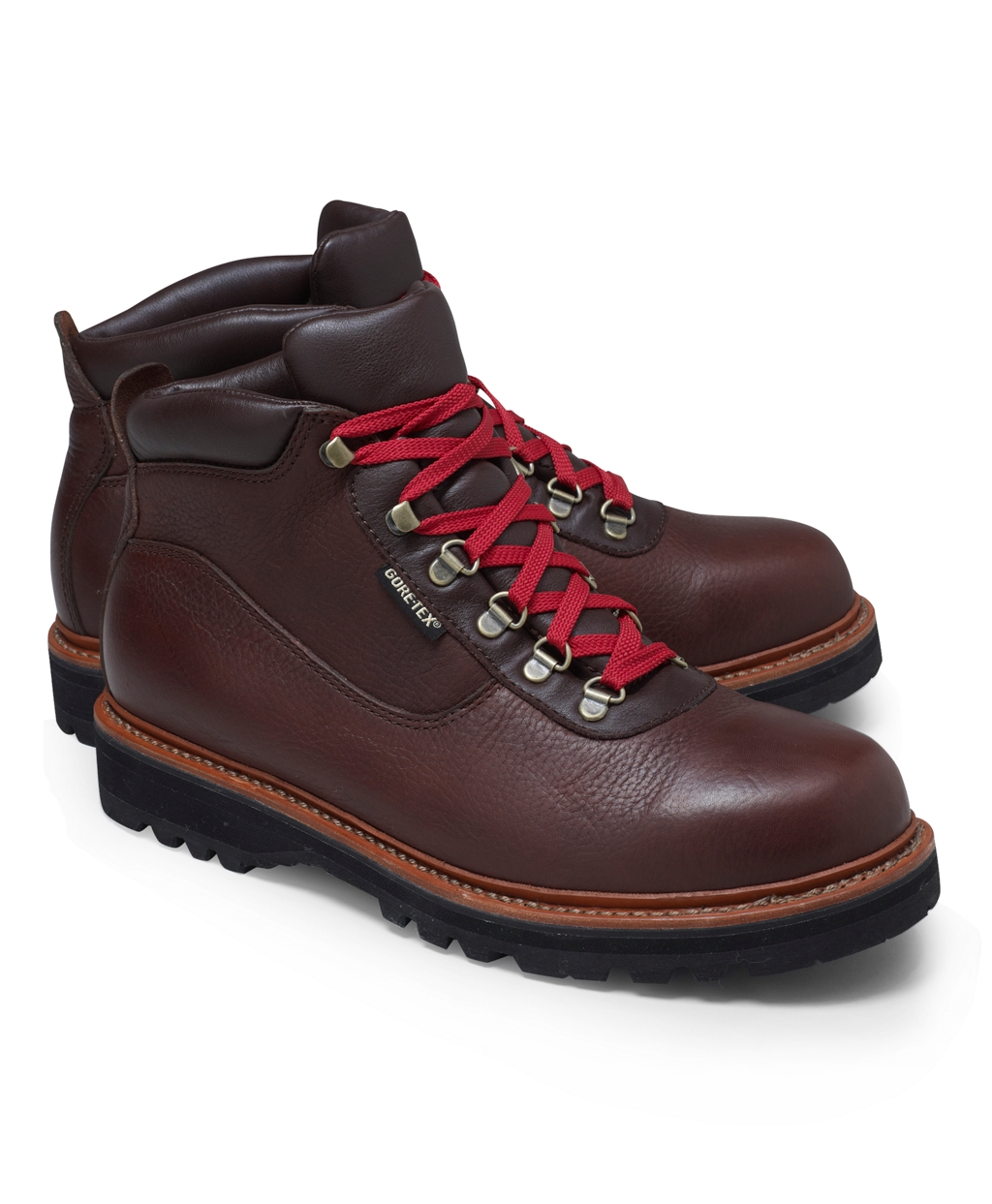brothers hiking boots in brown for brown