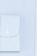 Brooks Brothers Supima Cotton Noniron Slim Fit Shadow Check Dress Shirt in Blue for Men (light blue) - Lyst